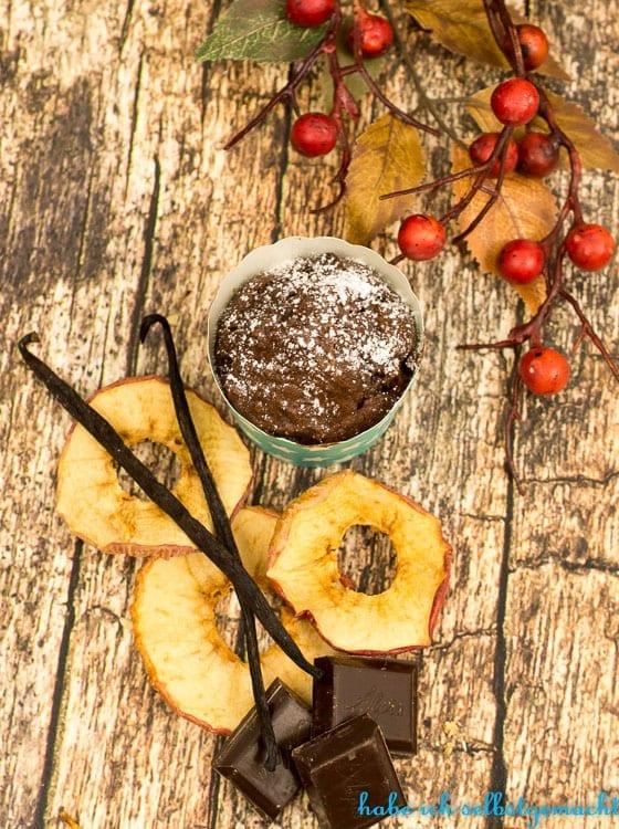 Backmischung Apfel Zimt Muffins