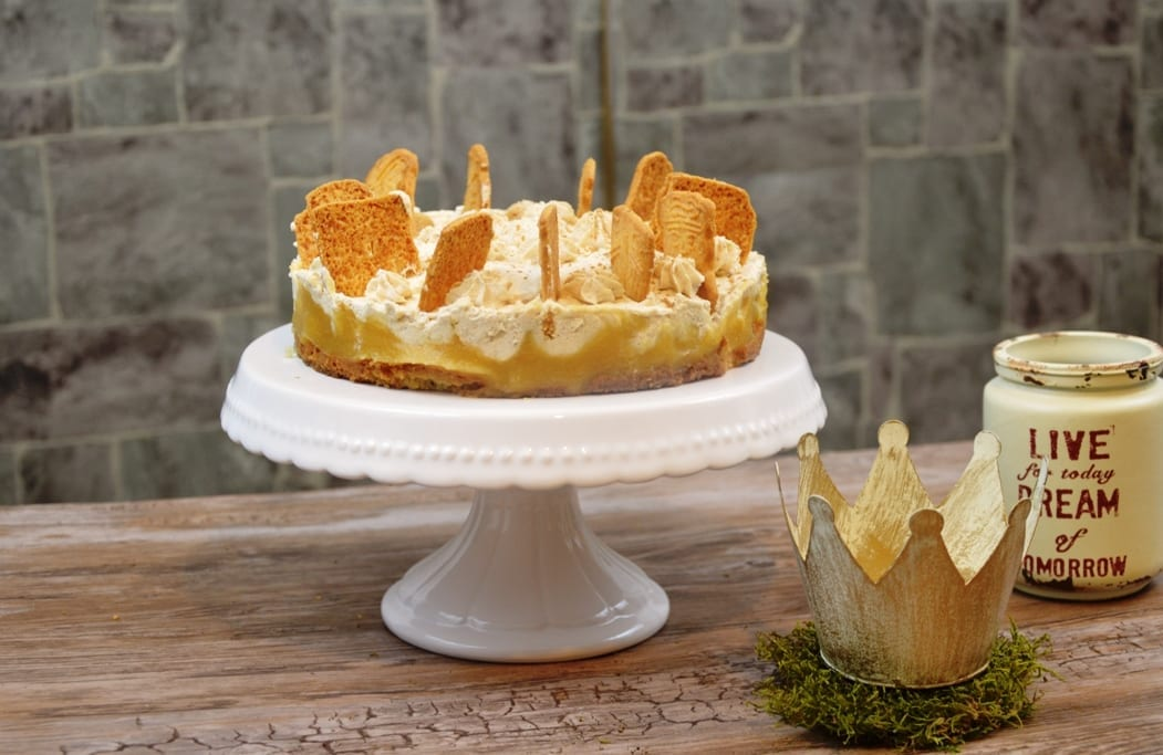 Spekulatius Apfel Torte