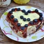Vanillecreme Herzkuchen