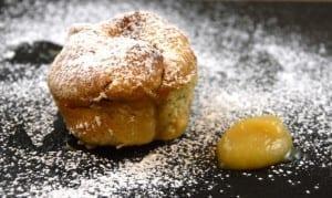 Ofenberliner mit Apfel Zimt Füllung