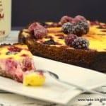 Low Carb Beeren Kuchen