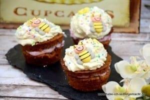 Haselnuss Schoko Cupcakes