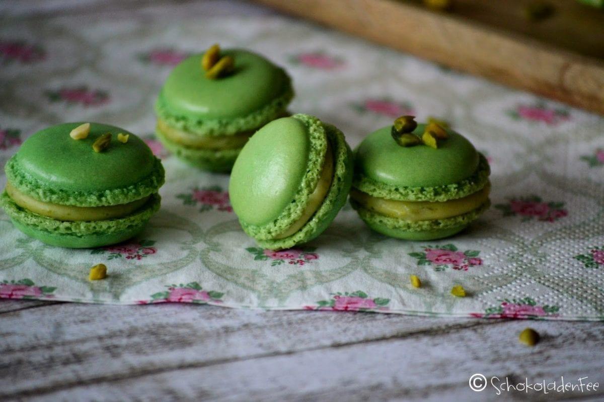 pistazien macarons