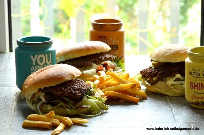 Burger Bestellung Jeff´s Burger