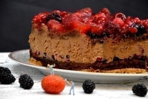 Schoko Beeren Traum Torte