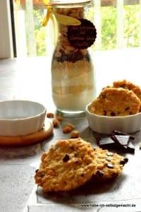 Backmischung für Erdnuss Scoko Cookies