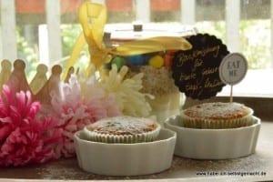 Backmischung für bunte Geburtstagsmuffins