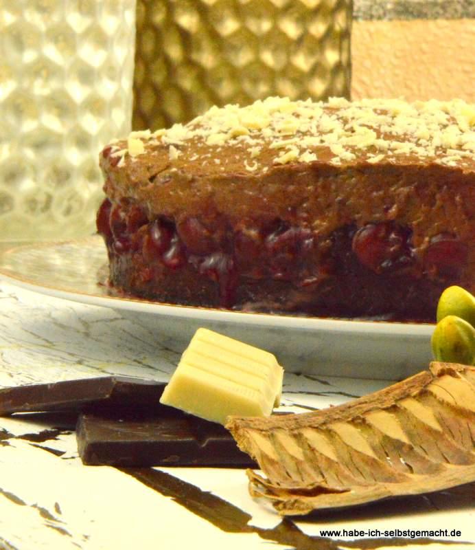 Omas Rezept für Kirsch Haselnuss Torte- glutenfrei&laktosefrei