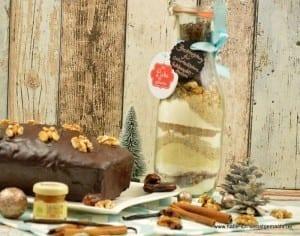 Backmischung für orientalischen Weihnachtskuchen