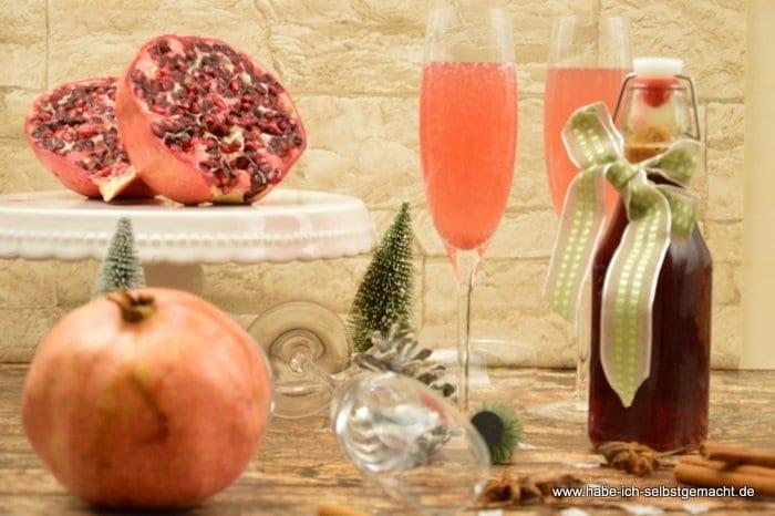 Granatapfel Sirup