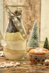 Kirsch Schoko Stollen Muffins