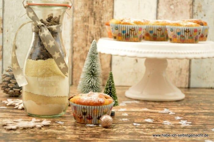 Stollen Schoko-Kirsch Muffins