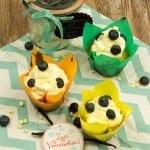Blaubeer Cupcakes