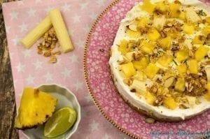 Limetten Ananas Torte