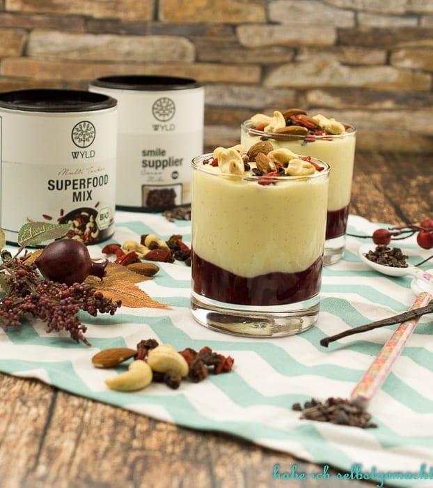 Vanille Kirsch Dessert