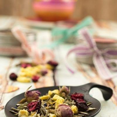 Tee Mischung verschenken- Kleine Geschenke aus der Küche