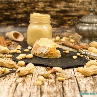 Wie mache ich Erdnussbutter selber? Rezept