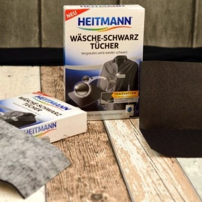 Test der HEITMANN Wäsche-Schwarz Tücher