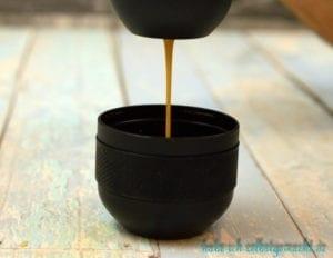 Wacaco minipresso Portable Espresso Machine - Espresso kommt