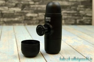 Wacaco minipresso Portable Espresso Machine - Pumpknopf ausfahren