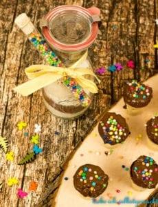Muffins im Schokobecher