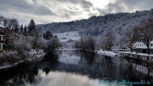Winterwanderung auf dem Goldsteig
