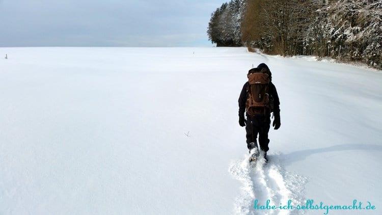 Winterwandern Goldsteig - Anstrengend aber schön
