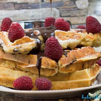Schokoladen Quark Waffeln – Backmischung
