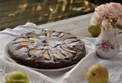 Birnen Rum Kakaokuchen // Bildquelle: My F(l)avourites