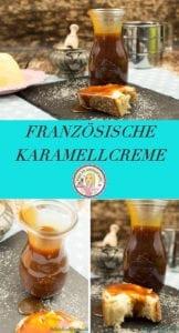 Französische Karamellcreme