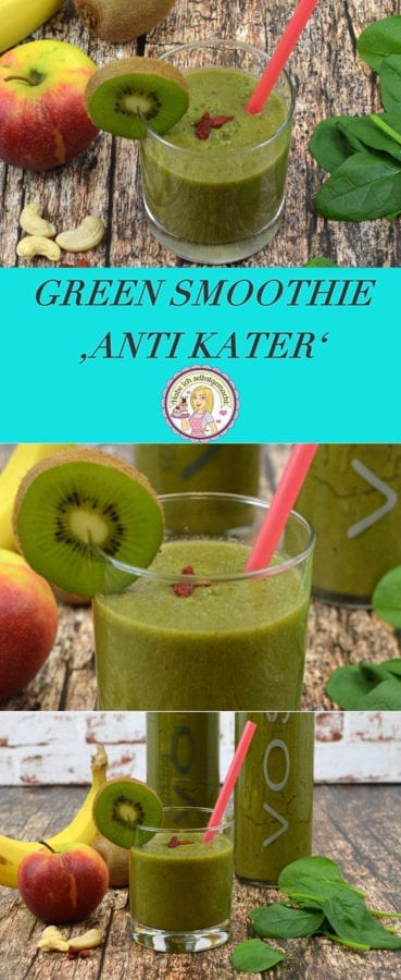 Green Smoothie Anti Kater