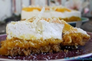 No bake Kokos Mango Torte