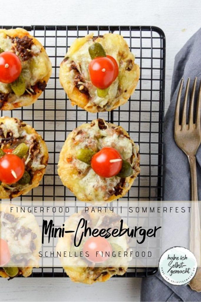 Mini Cheeseburger Fingerfood