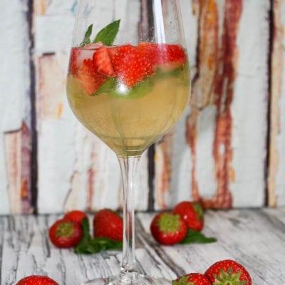 Mein Sommerdrink- Erdbeer Hugo