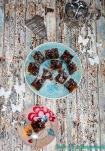 Schokoladen Tarte mit Kirschen