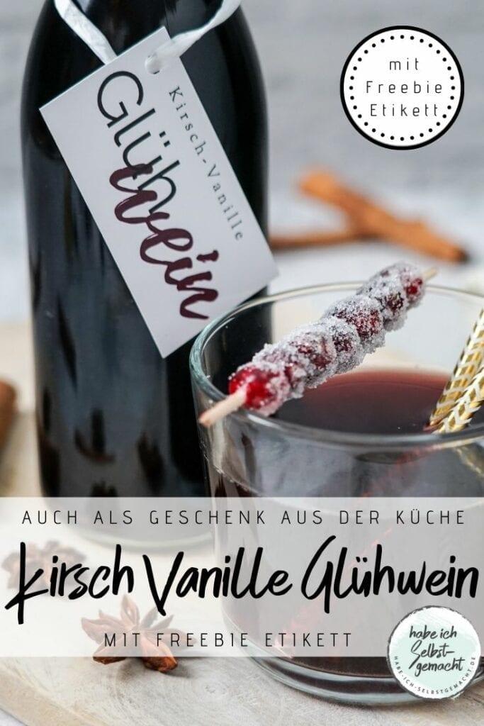 Kirsch Vanille Glühwein Rezept