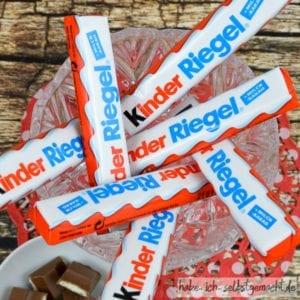 Kinderriegel für Kinderschokolade Eis