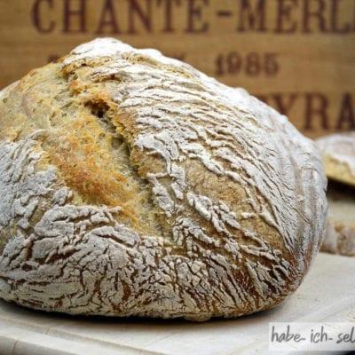 Brot #7 Französisches Boule (rundes Brot)
