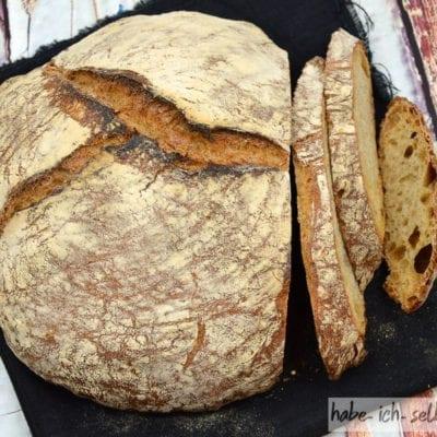 Brot #9 – Klassisches Weizen Sauerteig Brot