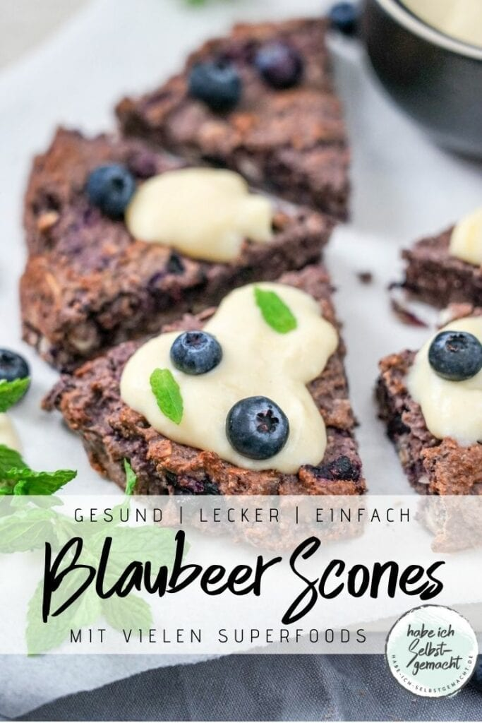 Glutenfreie Scones mit Superfoods