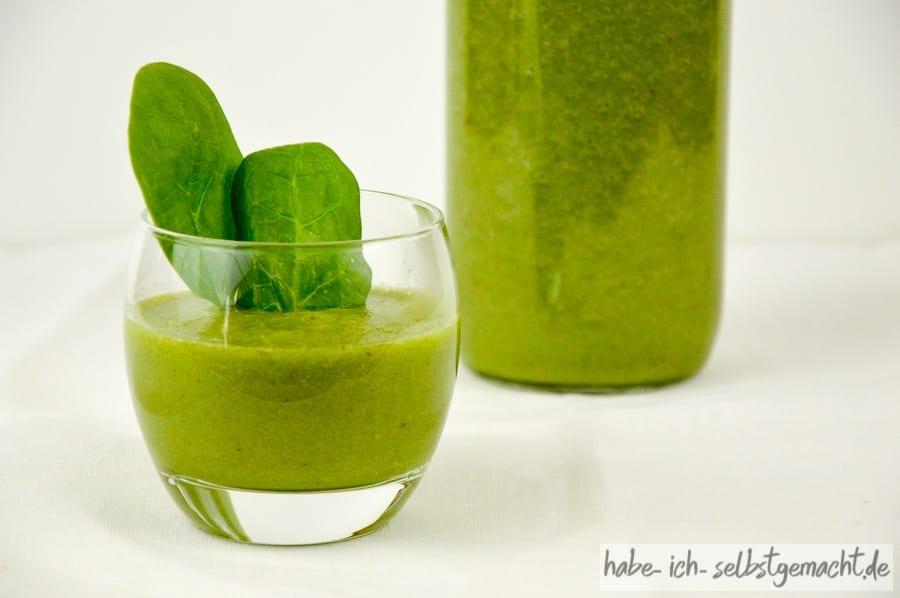 Green Smoothie - Erfrischend gut gegen Herbstmüdigkeit