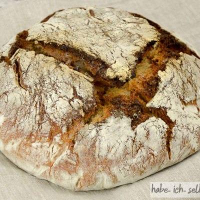 Brot #12 – Französisches Bauernbrot mit Buchweizen und Karotten