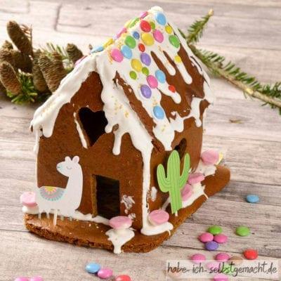 """Lebkuchenhaus """"Alpaka Home"""" (auch als Geschenkidee)"""
