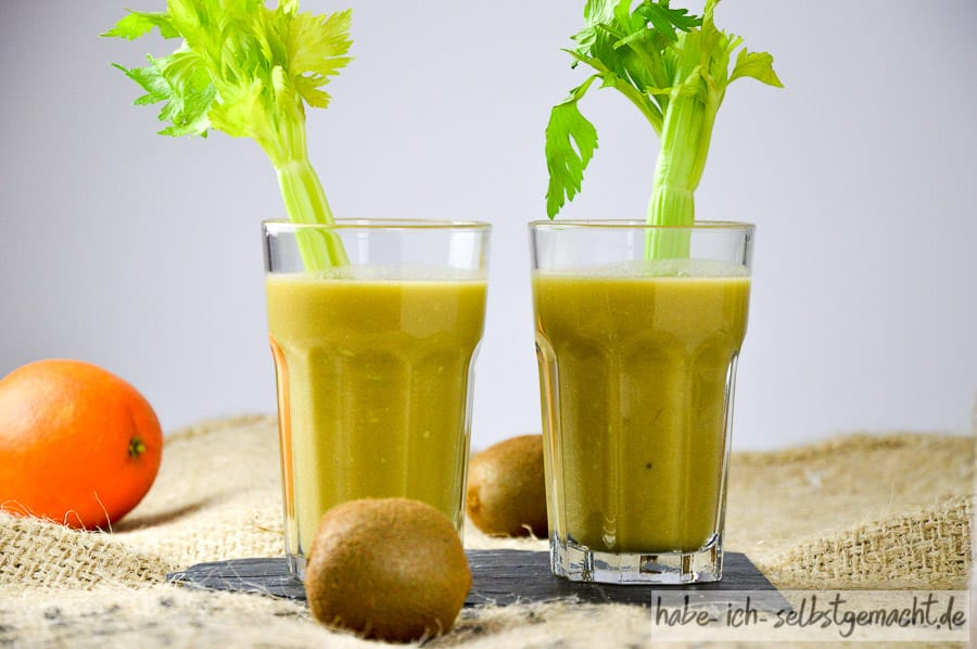 Avocado Sellerie Kiwi Saft 2