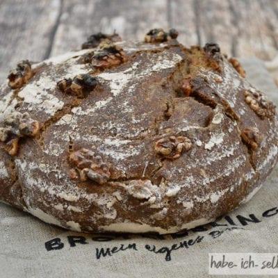 Brot #21 – Walnuss Brot