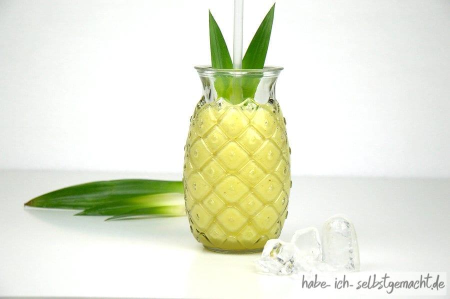 Reiner Ananas Smoothie
