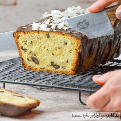 Schoko-Kokos-Traum Kuchen (auch als Backmischung im Glas)