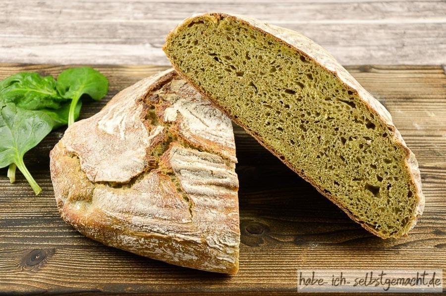 Spinat Brot