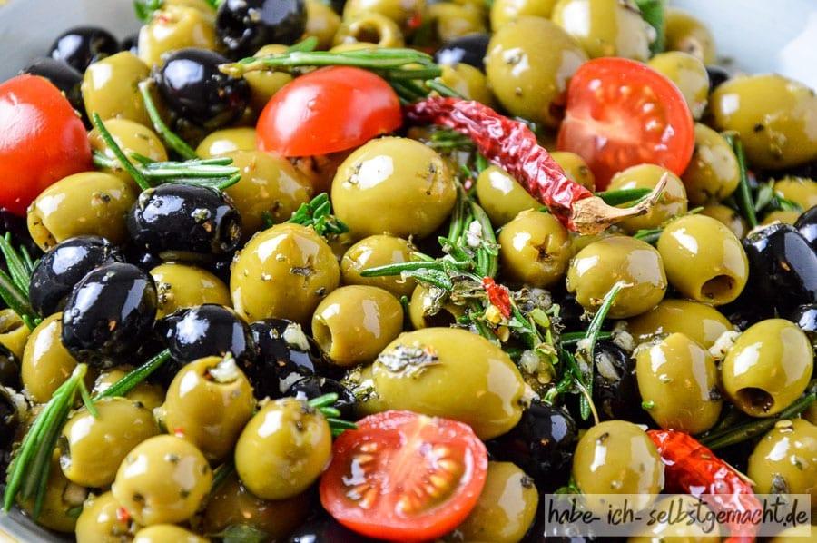 Rezept für selbst eingelegte Oliven