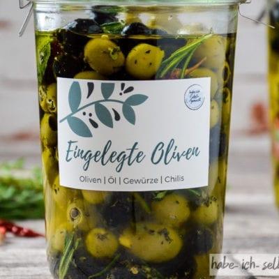 Eingelegte Oliven – Geschenkidee aus der Küche